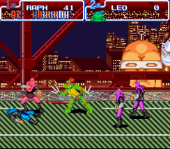 Teenage Mutant Ninja Turtles Turtles In Time Snes Roms Nintendo