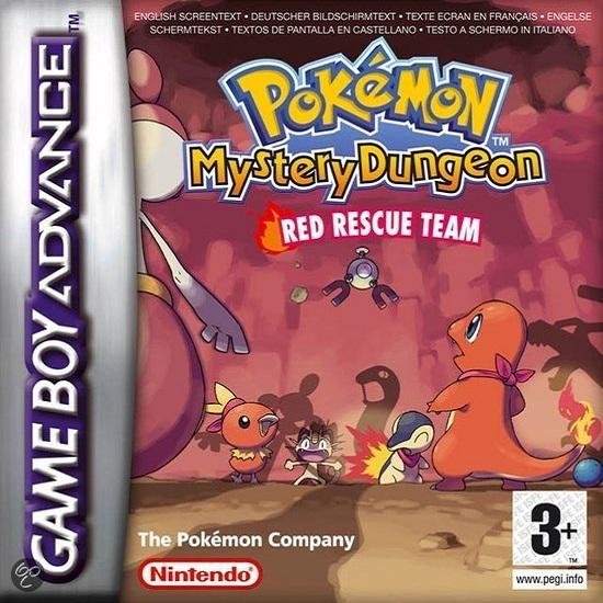 pokemon mundo misterioso equipo de rescate rojo gba rom